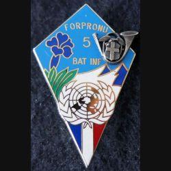 13° BCA : 13° Bataillon de chasseurs alpins BATINF 5 de la FORPRONU Arthus Bertrant Paris N° 0341