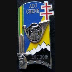 PROMOTION ENSOA : insigne de promotion ADJ  CHENE de fabrication Balme Saumur G. 4326