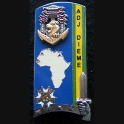 PROMOTION ENSOA : insigne de promotion ADJ DIEME de fabrication Arthus Bertrand G. 4871