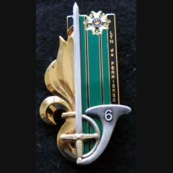 PROMOTION EMIA  : insigne métallique de la 42° promotion Lieutenant de Ferrières LR Paris G. 4807