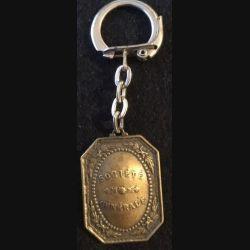 PORTE CLEFS : porte clefs du centenaire de la Société Générale de 1964 hauteur 3,7 cm bronze