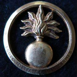 INSIGNE DE BÉRET : insigne de béret de l'école militaire interarmes fabrication Beraudy