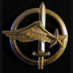 INSIGNE DE BÉRET : Insigne de béret des commandos de l'air de fabrication Drago Noisiel