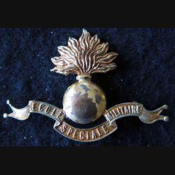 INSIGNE DE BÉRET : insigne de béret de l'école spéciale militaire fabrication non spécifiée
