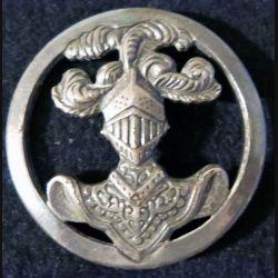 INSIGNE DE BÉRET ABC : insigne de béret de l'arme blindée cavalerie de fabrication Béraudy-Vaure