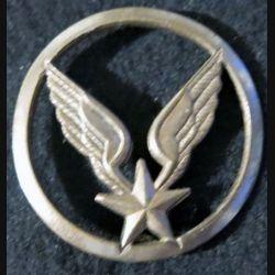 INSIGNE DE BÉRET : insigne de béret de l'aviation légère de l'armée de terre ALAT Béraudy-Vaure bronze