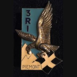 3° RI : Insigne métallique du 3° régiment d'infanterie de fabrication Delsart Sens G. 2006