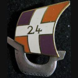 24° RID : 24° régiment d'infanterie divisionnaire de fabrication Arthus Bertrand Paris G. 2384