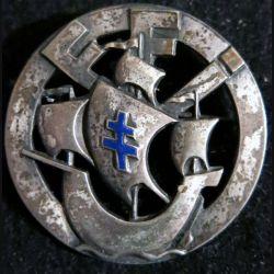 10° DI FFI : 10° division infanterie FFI  de fabrication Klein & Quenzer en émail