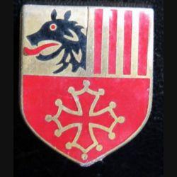 ÉCU de Gendarmerie de la CCRG (cdt de circo régionale de la gend) Languedoc Roussillon Drago Paris G. 2994