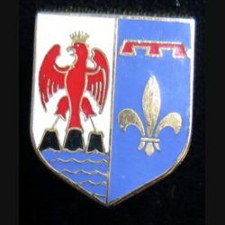 ÉCU de Gendarmerie de la CCRG Provence Côte d'Azur AB G. 2138 en émail