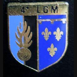 Écu de la 4° légion de gendarmerie mobile de fabrication Delsart G. 3809