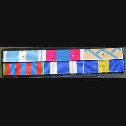 Barrettes de rappel de 6 décorations opérations OTAN