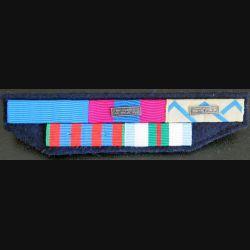 Barrettes de rappel de 5 décorations opérations Timor Oriental force aérienne de projection