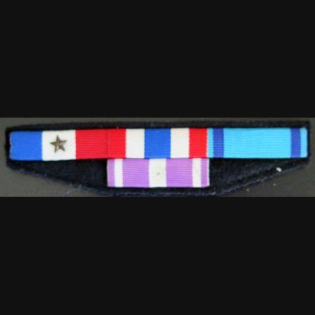 Barrettes de rappel de 5 décorations police nationale