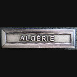 """Barrette """" ALGÉRIE """" en métal argenté"""