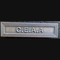 """Barrette """" C.E.A.A """" en métal argenté"""