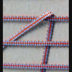 ruban de boutonnière de la croix du combattant vendu par 20 cm