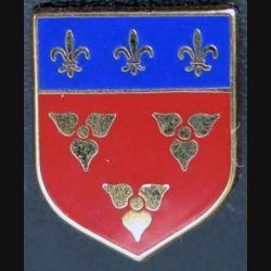 ECU de Gendarmerie : insigne métallique de l'écu de la 10° légion Bis mixte de gendarmerie sans vis