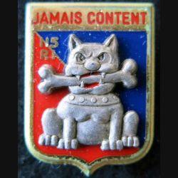115° RI : insigne métallique du 115° régiment d'infanterie  de fabrication Fraisse Paris G. 2810