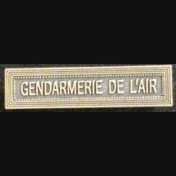 """BARRETTE """"GENDARMERIE DE L'AIR"""""""