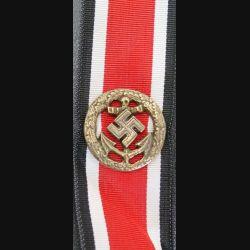 ALLEMAGNE : Agrafe de la liste d'honneur du 3° Reich pour la marine (Refrappe ?)
