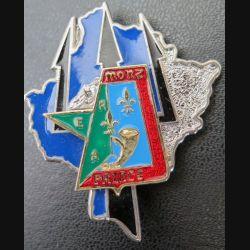 4° RCH : ERIAC n°4 du 4° Chasseurs en Bosnie 2003 de fabrication Shéli n°053 gros éclat émail