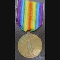 GRANDE BRETAGNE : médaille interalliée de la Grande Guerre 1914-1918 en bronze atribuée