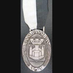151° RI : médaille du 151° régiment d'infanterie On ne passe pas