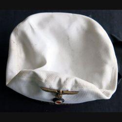 Bachi Kriegsmarine avec coiffe blanche et aigle très bon état