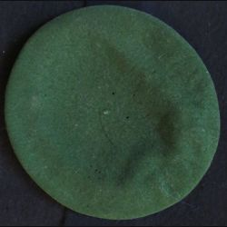Béret vert Légion en laine fabrication non spécifiée taille absente (56)
