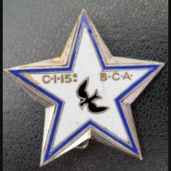 15° BCA : étoile d'éclaireur skieur du 15° bataillon de chasseurs alpins de fabrication Drago émail