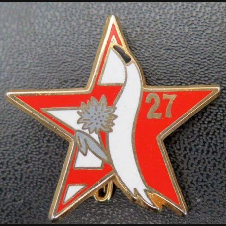 27° DIM : escadron d'éclairage de la 27° division d'infanterie de montagne Ballard G. 4196