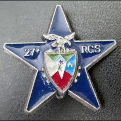 27° RCS : étoile d'éclaireurs du 27° régiment de commandement et de soutien Delsart matriculé 98