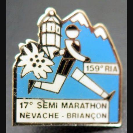 159° RIA : pin's du 17° semi marathon Nevache - Briançon