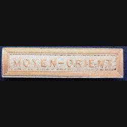 """Barrette """" MOYEN-ORIENT """" en métal doré"""