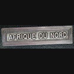 """Barrette """" AFRIQUE DU NORD """" en métal argenté"""
