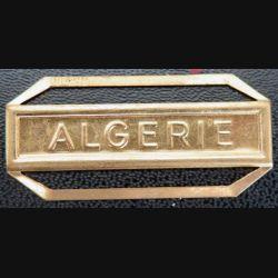 """Barrette """" ALGÉRIE """" en métal doré"""