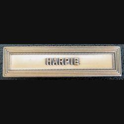 """Barrette """" HARPIE """" en métal doré"""