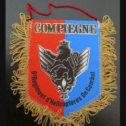 6° RHC : Fanion 10 x 13 cm du 6° régiment d'hélicoptères de combat de Compiègne 3° CA