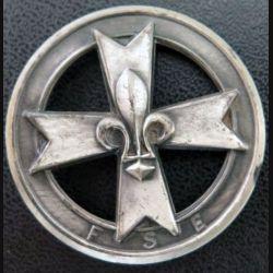 FSE : insigne métallique de béret de la fédération des scouts d'Europe