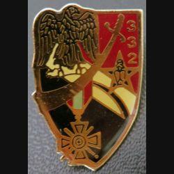 332° CGDI : pin's de la 332° compagnie de génie de division d'infanterie