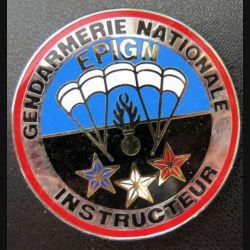 EPIGN : Brevet instructeur de l'escadron parachutiste d'intervention de la Gendarmerie nationale EPIGN Boussemart 2004 N° 37/A