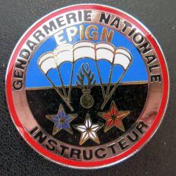 EPIGN : Brevet instructeur de l'escadron parachutiste d'intervention de la Gendarmerie nationale EPIGN Boussemart 2004 N° 38/A