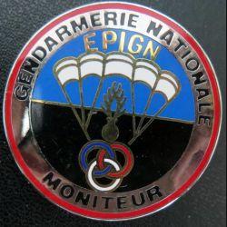 EPIGN : Brevet de moniteur parachutiste Escadron parachutiste intervention Gend Nat EPIGN Boussemart n° 36/A