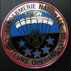 EPIGN : Brevet de chuteurs opérationnels Escadron parachutiste intervention Gend Nat EPIGN Boussemart n° 38A