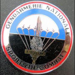 EPIGN : Brevet de sports de combat Escadron parachutiste intervention Gendarmerie Nat EPIGN Boussemart 2002 N° 37/A