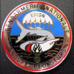 EPIGN : Brevet de groupe plongeurs Escadron parachutiste intervention Gend Nat EPIGN Boussemart n° 37/A