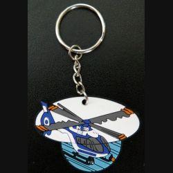 porte clefs de la gendarmerie EC 135 en mousse préformée