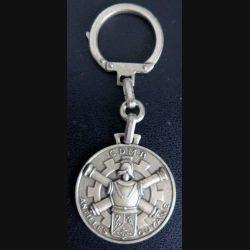 porte clefs de la CDMB Antilles Guyane 3,5 cm de fabrication FIA
